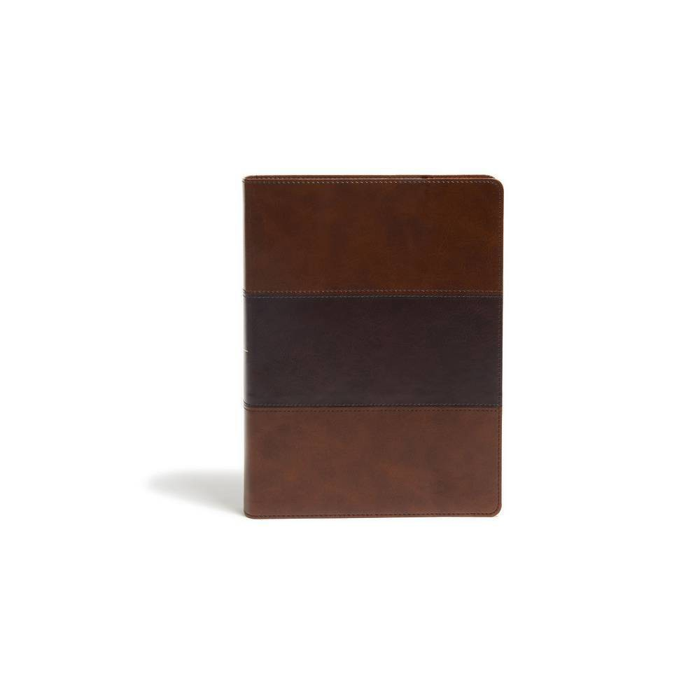 Kjv Study Bible Full Color Saddle Brown Leathertouch Leather Bound