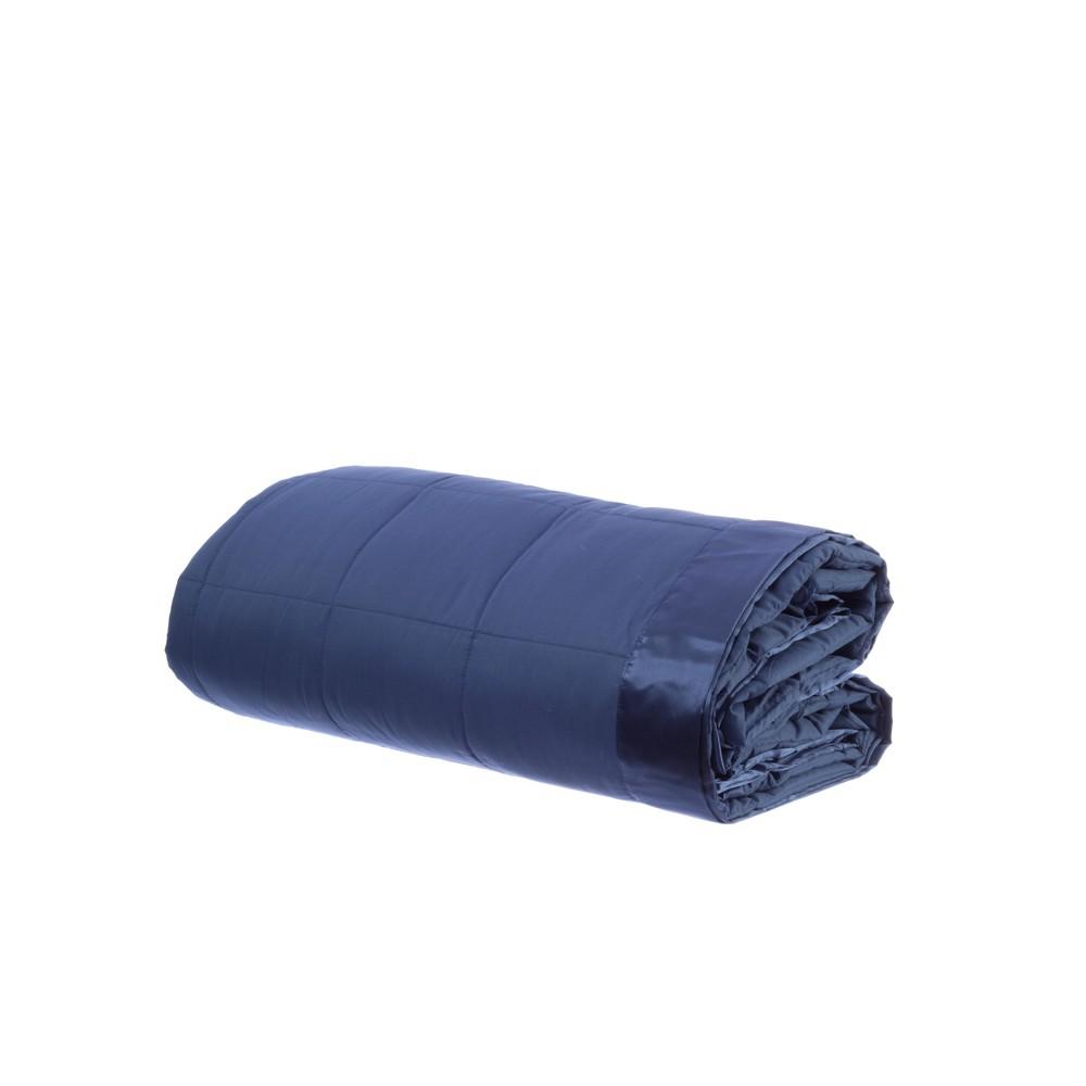 Image of Blue Temperature Regulating Blanket (King) - Outlast