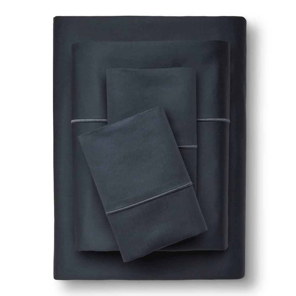 Supima Cotton Sheet Set (King) Shadow Teal 1000 Thread Count - Fieldcrest