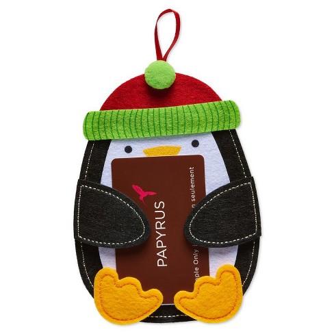 Papyrus Felt Penguin Gift Card Holder - image 1 of 3