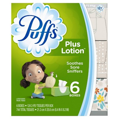 Tissues: Puffs Plus Lotion