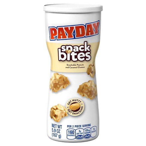 Pay Day Snack Bites Canister - 5.9oz - image 1 of 2