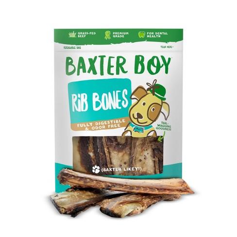 Baxter Boy Rib Bones Dog Treats 10pk