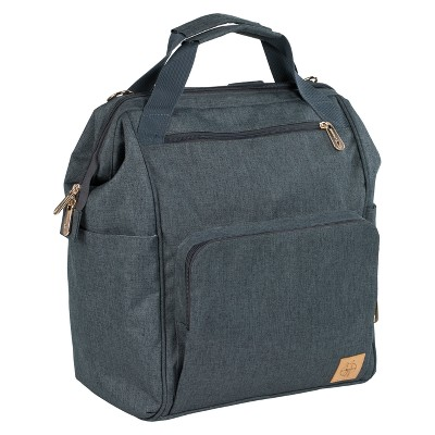 Lassig Glam Goldie Backpack Diaper Bag - Gray