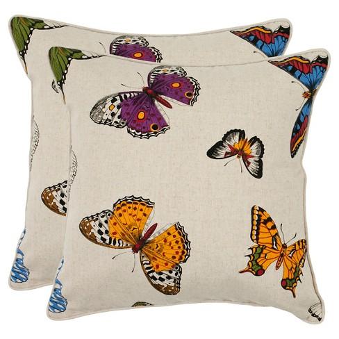 "Set Throw Pillow (22""x22"") - Safavieh® - image 1 of 2"