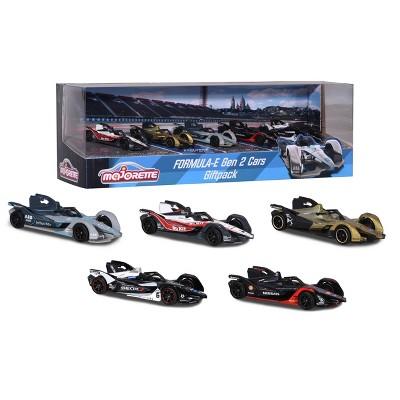 Majorette Formula-E Gen 2 Cars 5pk 1:64 Scale Die-Cast Vehicles