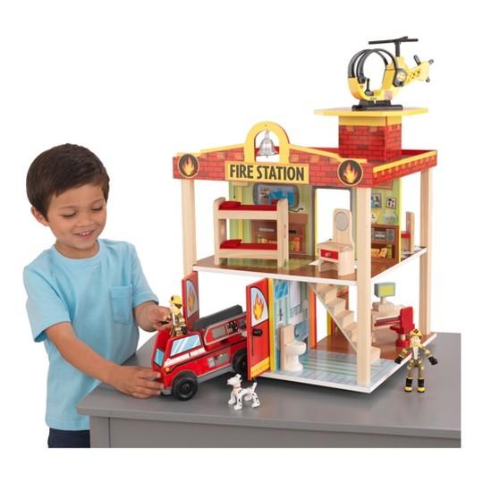 KidKraft New Fire Station Set image number null