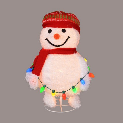 Lighted Frosty Pop Up Snowman Outdoor