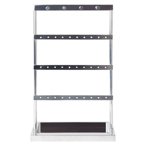 Ladder Jewelry Stand Silver - West emory™ - image 1 of 2
