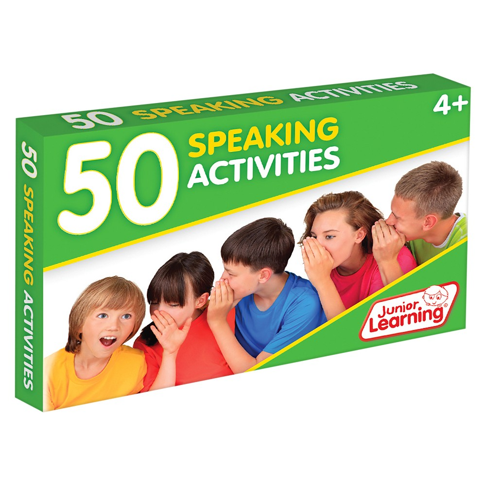 Junior Learning 50 Speaking Activities Learning Set