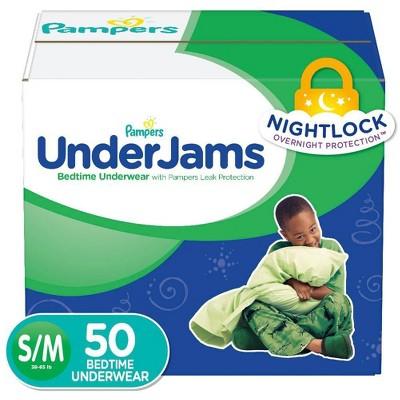 Diapers: Pampers UnderJams Boys'