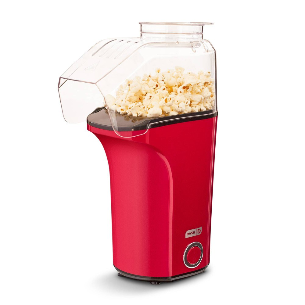 Image of Fresh Pop Electric Popcorn Maker - Red