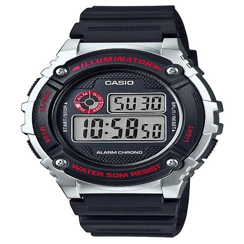 Men s Casio Digital Watch - Black   Silver   Target 52b49f9012e8