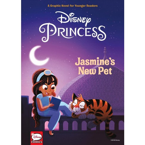 Disney Princess: Jasmine's New Pet (Younger Readers Graphic Novel) - (Hardcover) - image 1 of 1