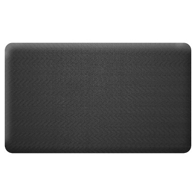 Newlife By Gelpro Sisal Comfort Kitchen Mat - Black (18X30)