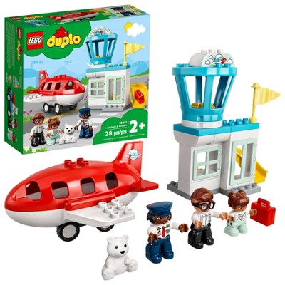 LEGO DUPLO Town Airplane & Airport 10961 Building Toy
