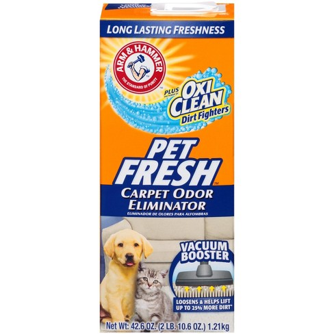 Arm & Hammer with OxiClean Pet Fresh Carpet Odor Eliminator with Vacuum Booster 42.6 oz - image 1 of 3