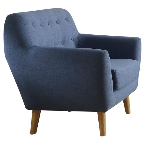 Accent Chairs Acme Furniture Blue - image 1 of 2