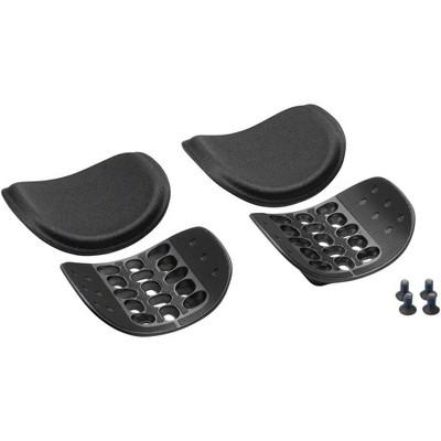 Profile Design Ergo Injected Armrest Kit: Black