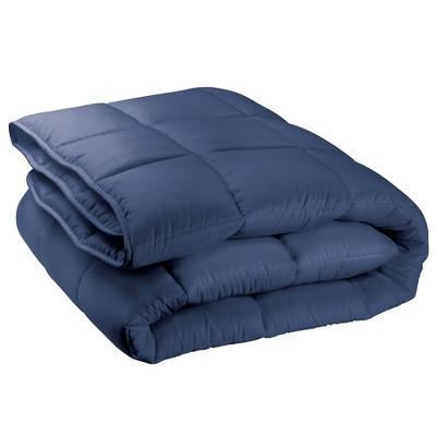 mDesign Full/Queen Down Alternative Quilted Duvet Insert, Comforter