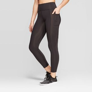 Women's High-Waisted Activewear Leggings - JoyLab™ Black M