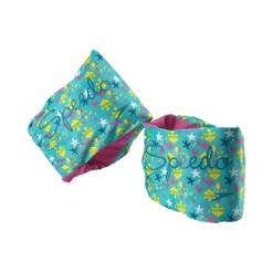Speedo Girls Fabric Armbands - Blue