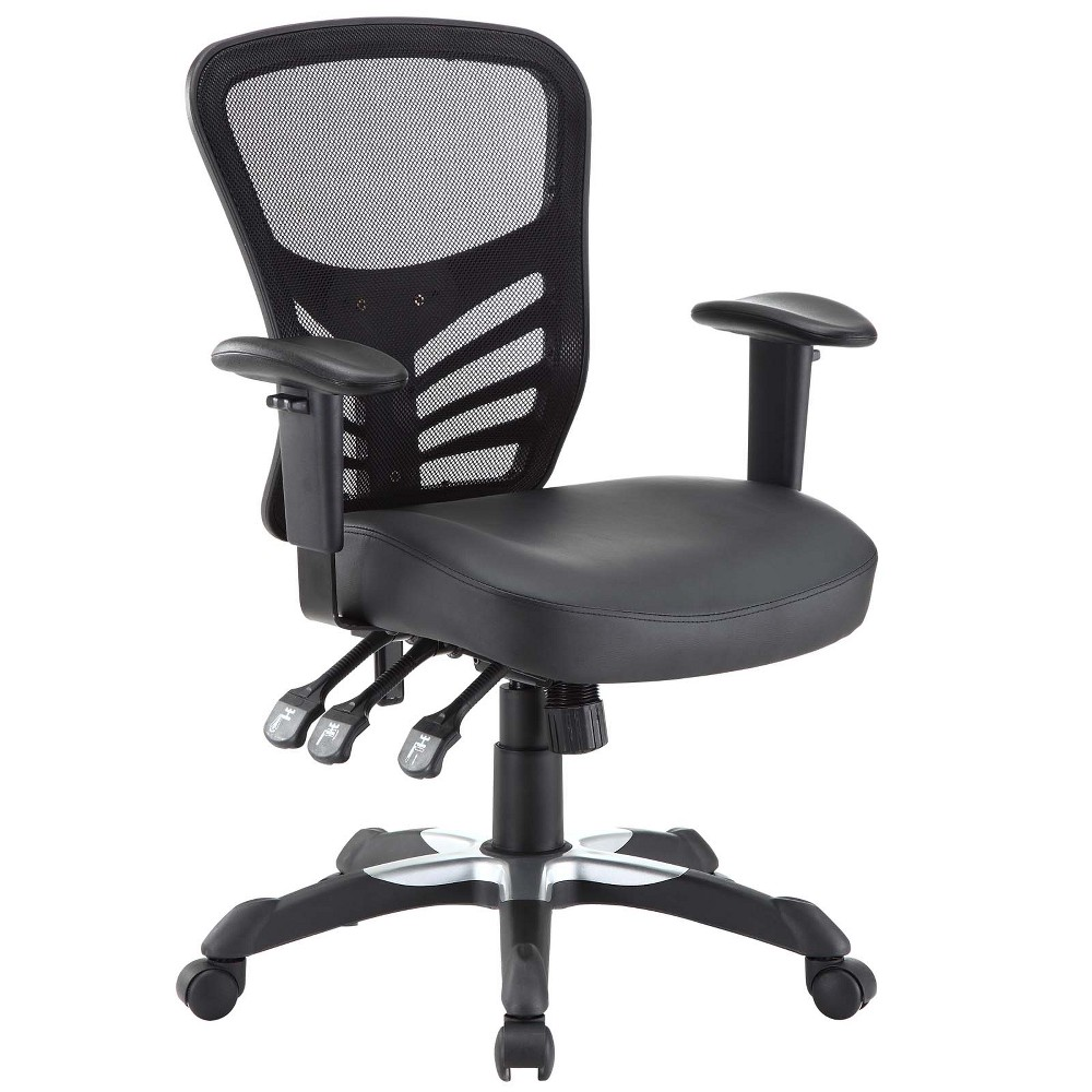 Image of Office Chair Modway Midnight Black