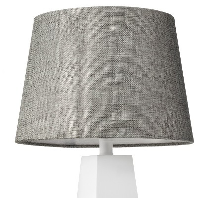 Linen Lamp Shade Gray Small - Threshold™