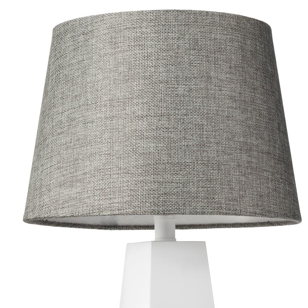 Image of Linen Lamp Shade Gray Small - Threshold