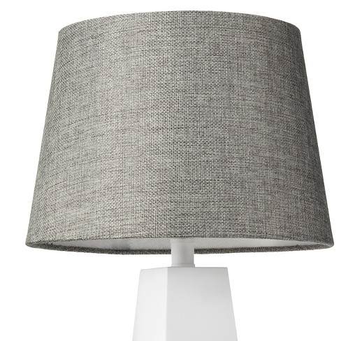Linen Lamp Shade Gray Small - Threshold™ - image 1 of 2