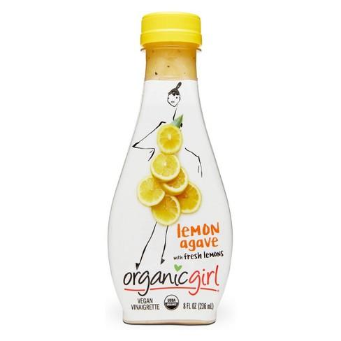 OrganicGirl Organic Vegan Lemon Agave Vinaigrette Dressing - 8oz - image 1 of 1
