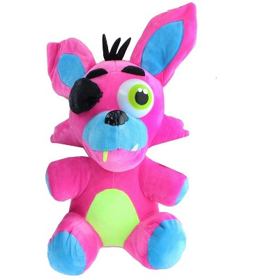 Chucks Toys Five Nights at Freddys 14 Inch Plush | Neon Pink Foxy