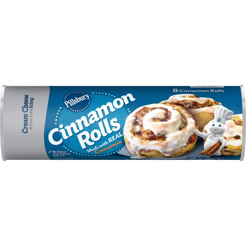 Pillsbury Cinnamon Rolls Cream Cheese Frosting - 12.4oz/8ct - image 1 of 4