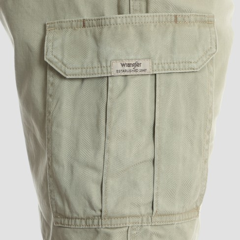 8bd146fcfa Wrangler Men's Twill Cargo Shorts : Target