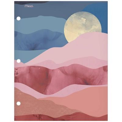 Paper Portfolio 2 Pocket Modern Landscapes Moon - Mead