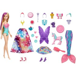 Barbie Dreamtopia Advent Calendar with Doll