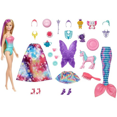 Barbie Dreamtopia Advent Calendar with Doll - image 1 of 4