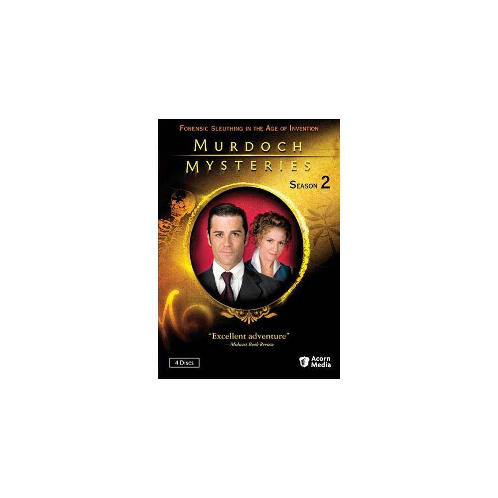 Murdoch Mysteries Series 2 Dvd