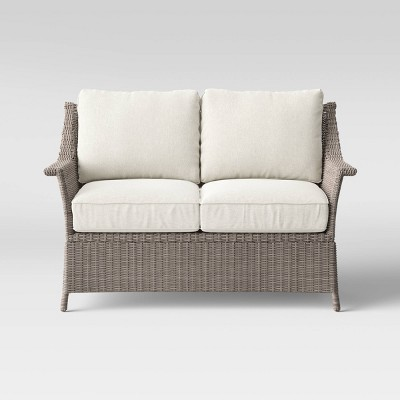 Foxborough Patio Loveseat Linen - Threshold™
