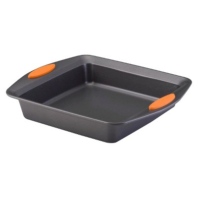 "Rachael Ray Square Baking Pan - Orange (9"")"