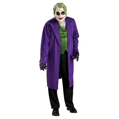 Batman Dark Knight The Joker Men S Adult Costume Target