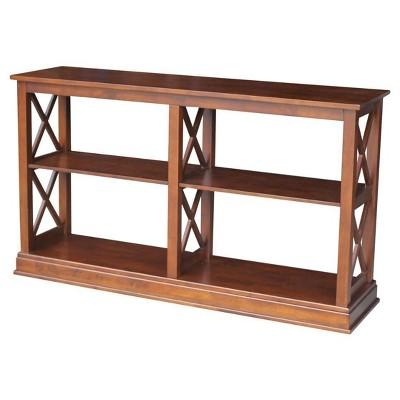 Hampton Sofa Server Table with Shelves - International Concepts