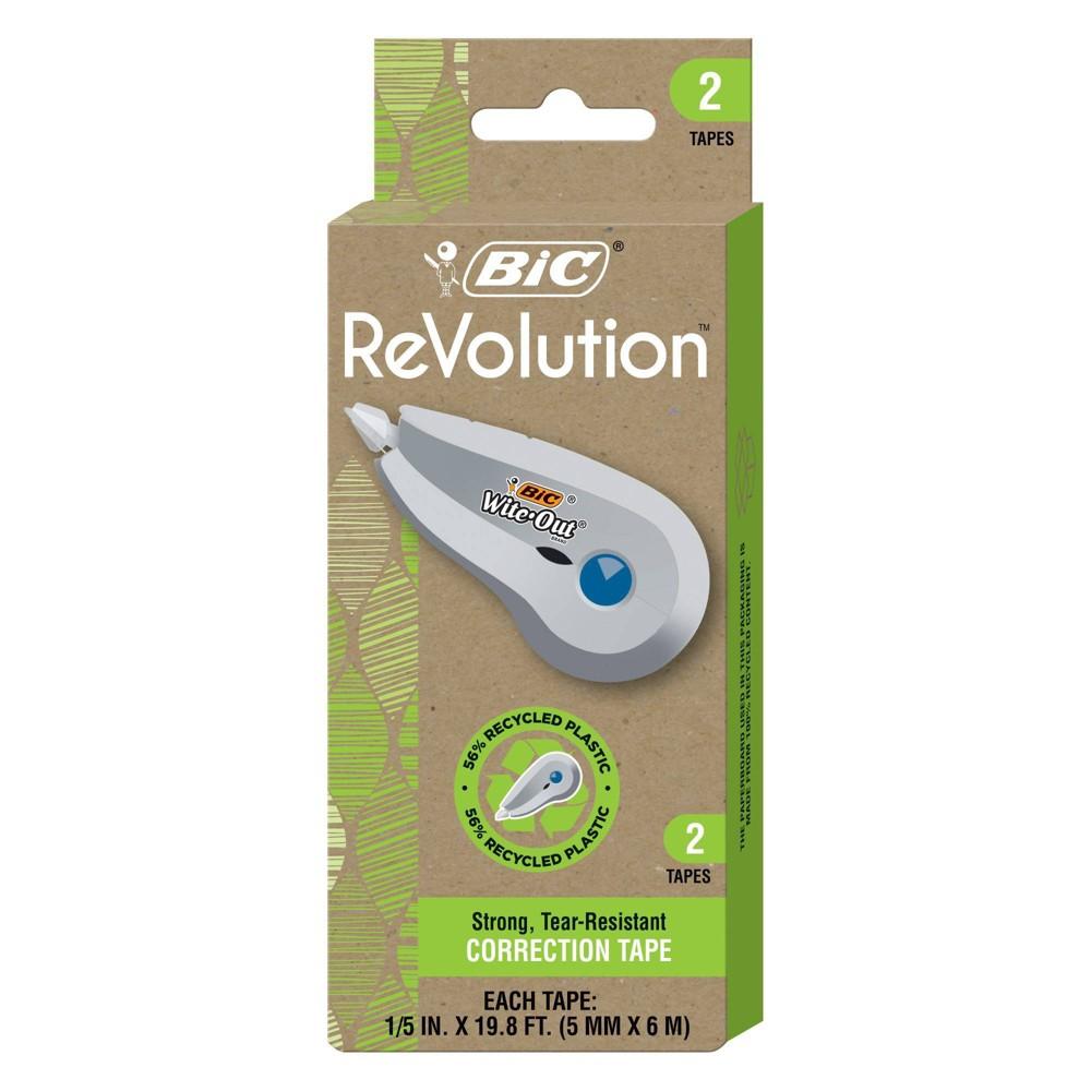 Bic 2pk Revolution Correction Tape