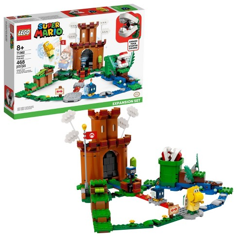 LEGO Super Mario Guarded Fortress Expansion Set Building Toy for Creative Kids 71362 - image 1 of 4