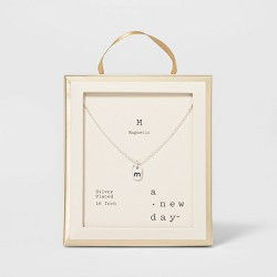Initial Tag Necklace - A New Day™