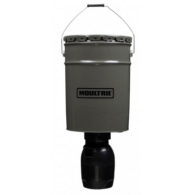 Moultrie 13282 6.5 Gallon Directional Hanging Bucket Auto Timer Game Deer Feeder