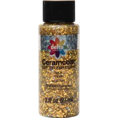 Delta Ceramcoat Glitter Explosion Acrylic Paint (2oz)
