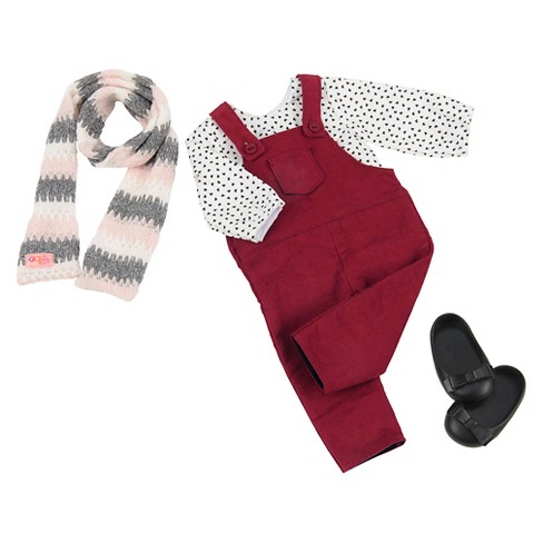 Our Generation® Fashion Outfit - Fall for Overalls™ - image 1 of 3