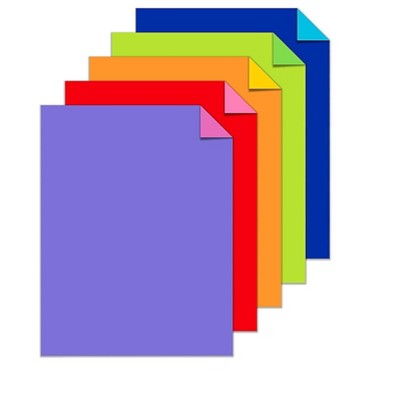 """Astrobrights Double-Color Cardstock Paper 70 Lbs. 8.5"""" x 11"""" 581147"""