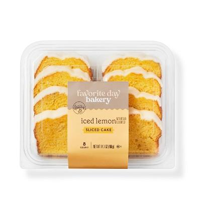 Iced Lemon Sliced Loaf Cake - 14.1oz - Favorite Day™